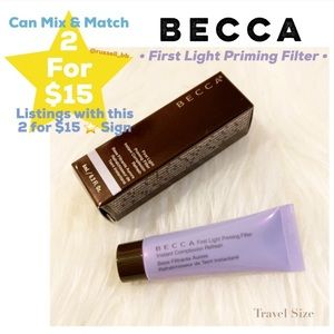 Becca First Light Priming Filter • Travel Size •